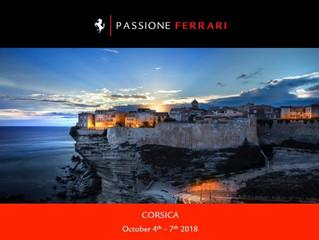 Ferrari Korsika Rallye vom 4. – 7. Oktober 2018