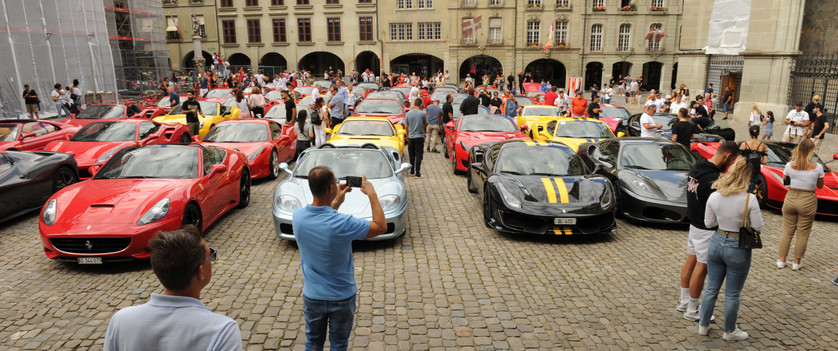 Ferrari Treffen Aarberg 2020