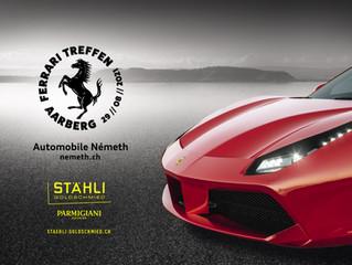 Réunion Ferrari à Aarberg 29.08.2021
