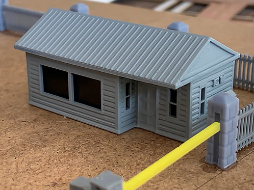 N Scale security office