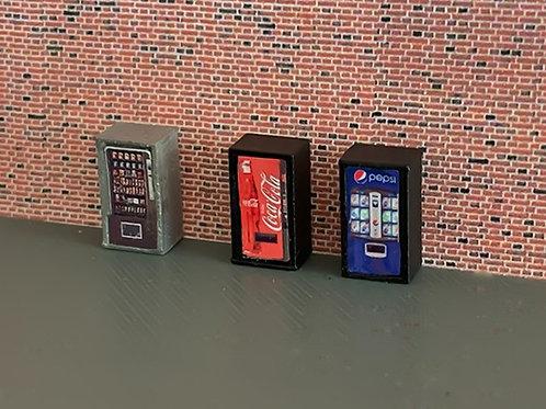 N Scale vending machines