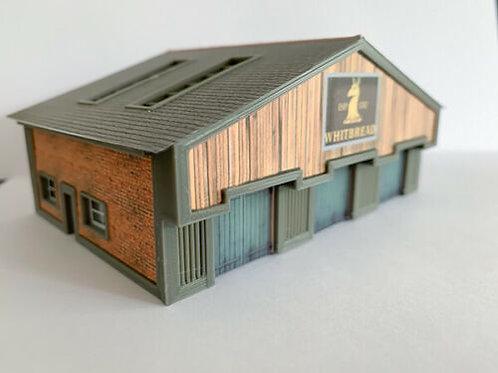 N Scale Whitbread depot