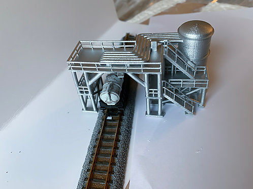 Fuel loading discharge facility