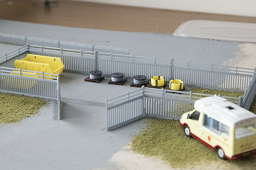 OO Scale Compound Yard