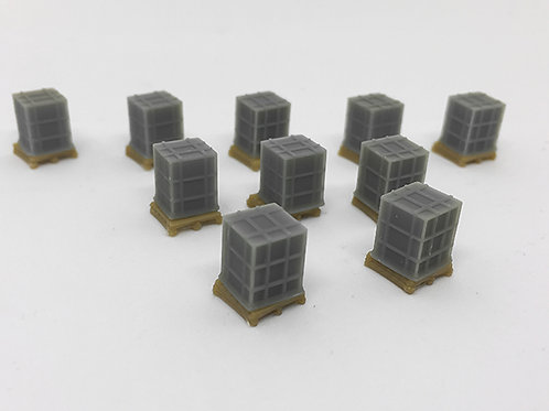 N Scale Shipping Crates