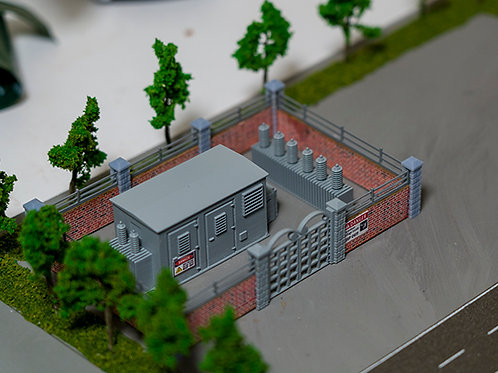 00 Scale 1/76 GAUGE ELECTRICITY SUB STATION
