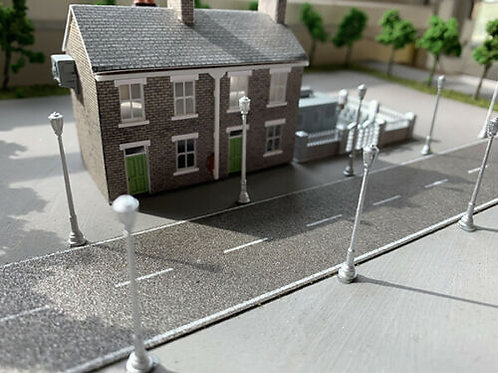 N Scale dummy street lights
