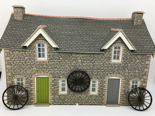 3x Decorative Carriage wheels for OO Gauge Scale