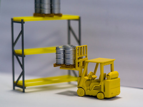 OO scale Yard Racking