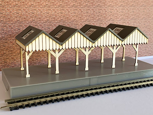 N SCALE STATION CANOPY