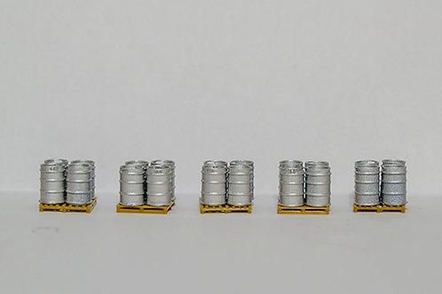 OO Scale Beer Kegs