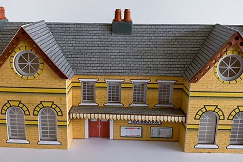 N Scale Town station YB