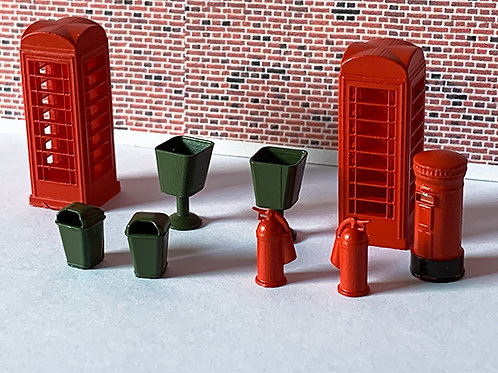 OO Scale Accessories pack