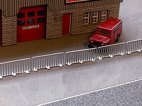 N Scale safety barriers