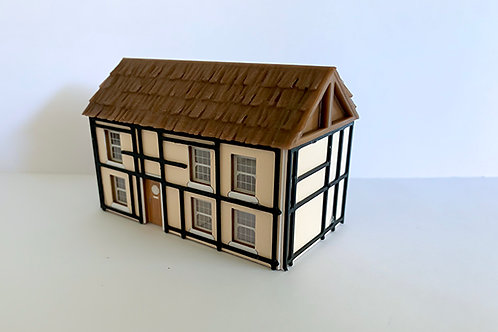 N Scale country cottage