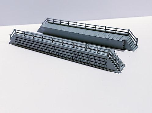 N Scale maintenance platforms