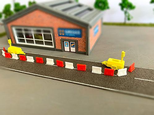 N Scale generator traffic lights