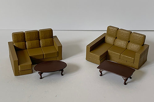 OO Scale Sofas set