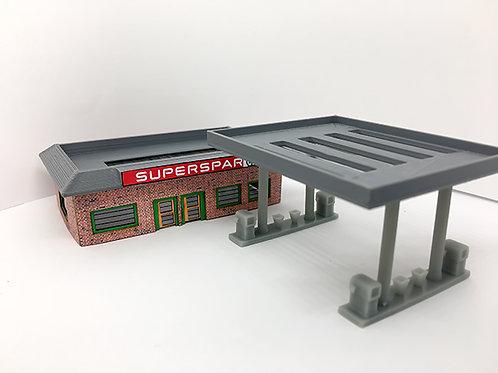 N Scale Garage
