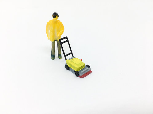 OO Scale Lawn Mower
