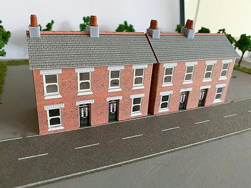 N Scale houses