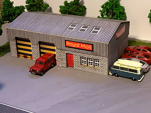 N Scale Royal mail depot