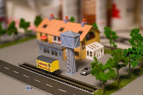 N Scale Water tower
