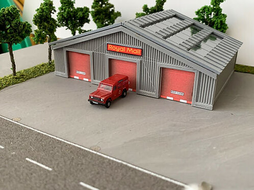 N Scale Royal mail depot 3 Different doors to choose from