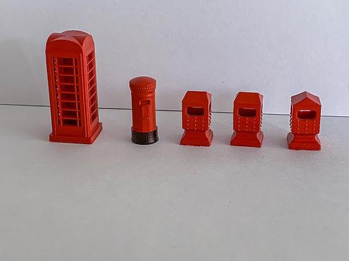 OO Scale Platform accessories