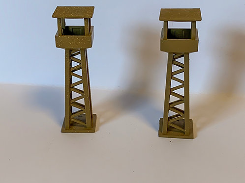 N Scale Watch tower