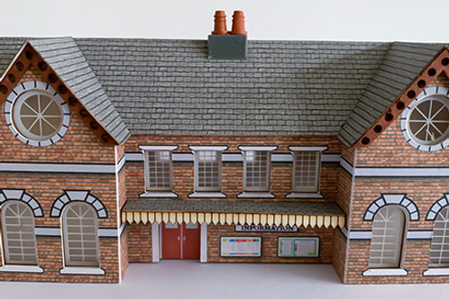 N Scale Town station RB