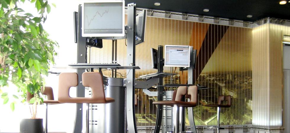 Lounge swissquote Zürich