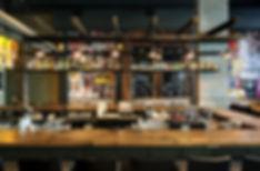 מסעדת אובן קובן - נגרות מעץ ממוחזר