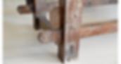 שולחן מעוצב עץ ממוחזר