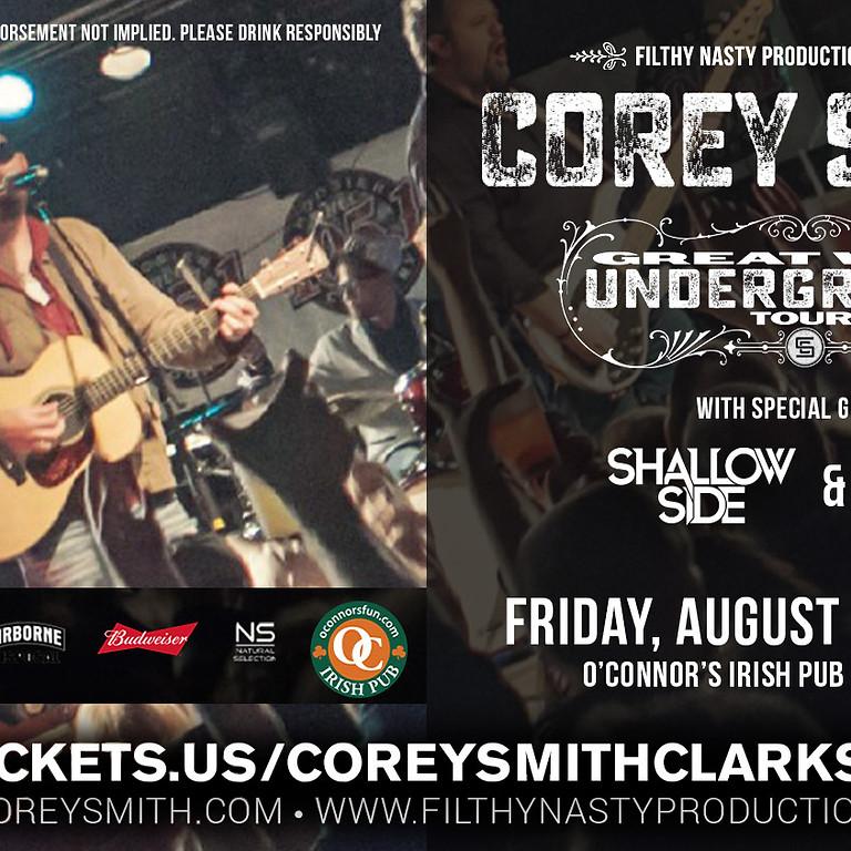 Corey Smith Great Wide Underground Tour