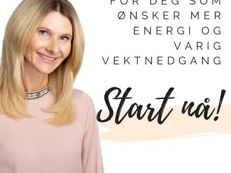 Onlinekurs for deg som ønsker deg mer energi eller varig vektnedgang