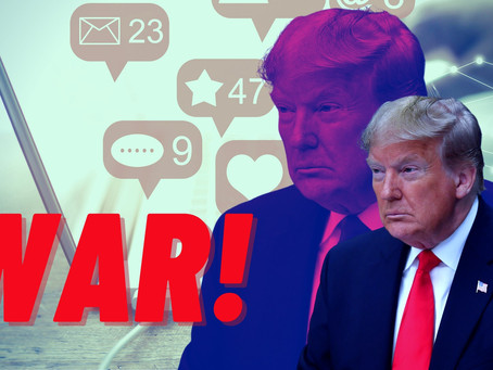 Big tech goes to war with Trump, so he might 'build his own online platform'