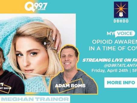 DBHDD and Meghan Trainor Streaming Concert