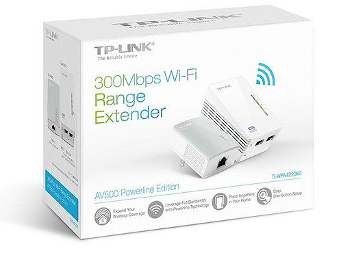 TP-LINK TL-WPA4220KIT Advanced 300Mbps Universal Wi-Fi Range Extender, Repeater