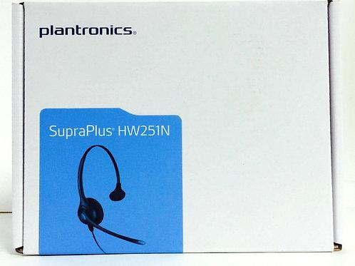 Plantronics HW251N SupraPlus Noise-canceling Monaural Headset (64338-31)