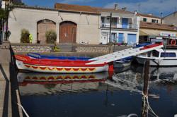 Marseillan port