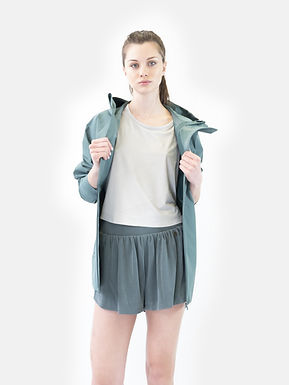 Train asymmetric jacket silver pine SUPERDRY ( Disponibilità L )
