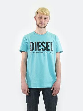 T-Diego-logo T-shirt 00SXED DIESEL