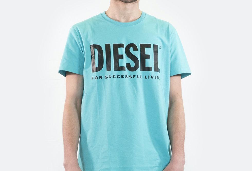 DIESEL T-Diego-logo T-shirt 00SXED