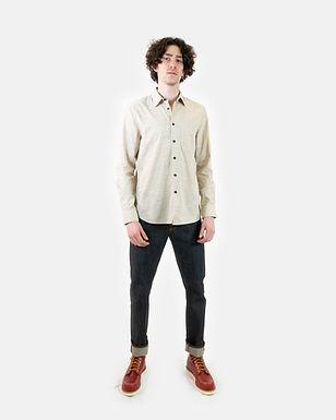 Camicia Stanley melange stripe NUDIE JEANS (Disponibilità M)