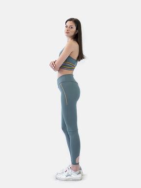 Flex high waist tight silver pine SUPERDRY (Disponibilità S)