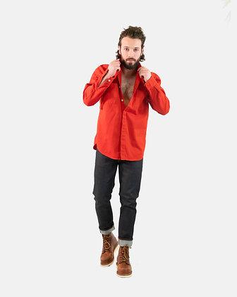 Camicia Sten Madras Stripe red NUDIE JEANS