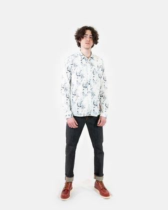 Camicia Henry sketch print NUDIE JEANS (Disponibilità M)