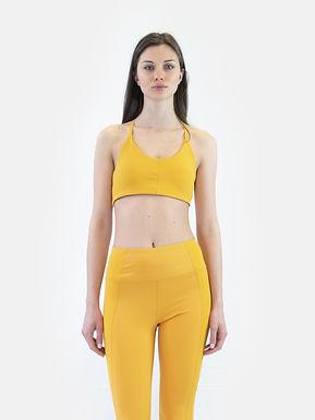 Flex asimmetric low impact bra sunflower SUPERDRY (Disponibilità S)