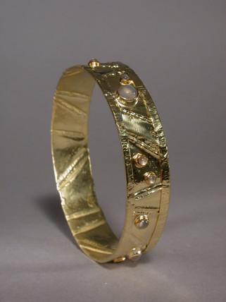 Fold Forming bracelet